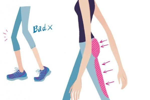 筋力&骨力アップ!脂肪を燃やす!歩き方 Step1