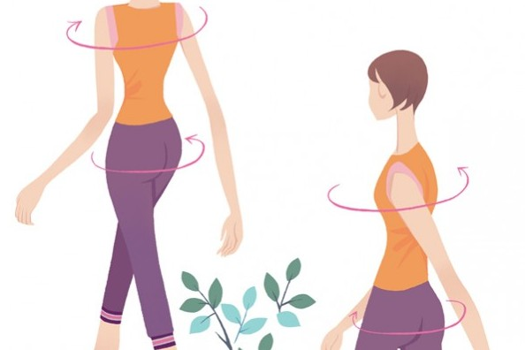 骨力&筋力アップ!脂肪を燃やす!歩き方 Step6