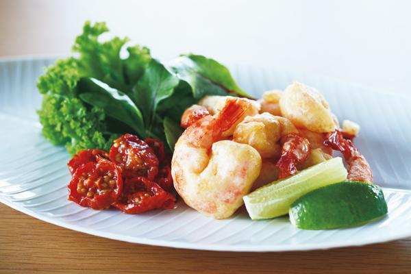 若林三弥子さんのおしゃれなスーパーフードレシピ③アマランサスを使ったフリット