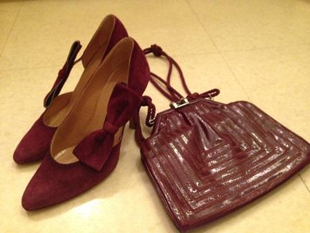 朝倉さん バッグと靴