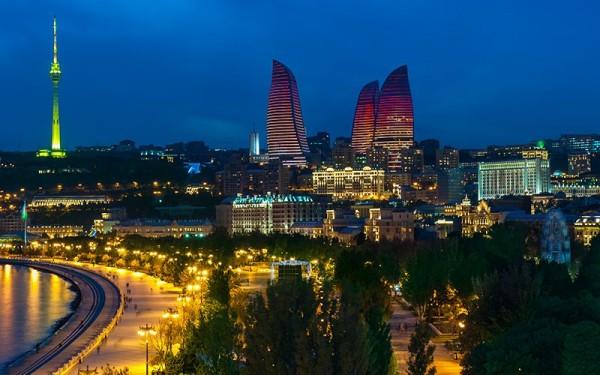アゼルバイジャン夜景