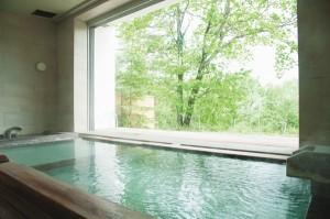 ホテル クオビア 半露天風呂