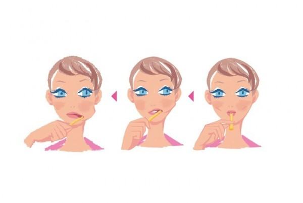 口元筋トレで口角アップ⑤ 歯ブラシエクササイズ&アイロンがけエクササイズ