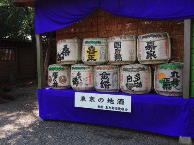 吉田初詣大国魂神社2