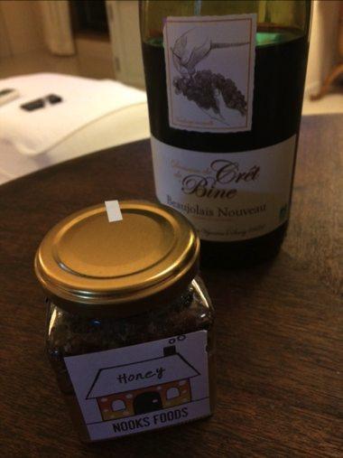 吉川 ハチミツ、ワイン