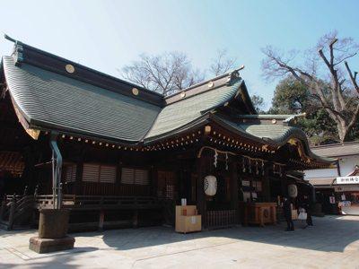 吉田初詣大国魂神社