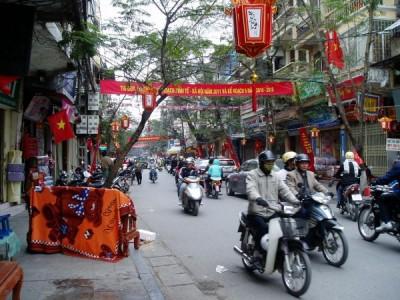 井原さん ベトナム 街中