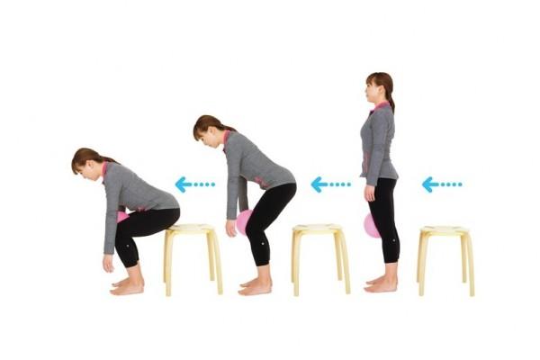 XOXOボディオロジーで股関節痛&腰痛予防⑦座る+立つ