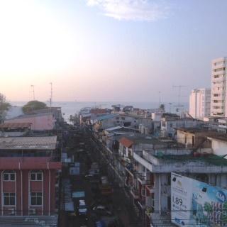 朝倉さん タイ パタヤの街