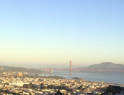 井原さん サンフランシスコ橋