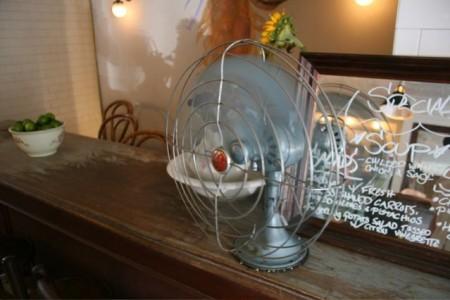 カフェな日々 扇風機