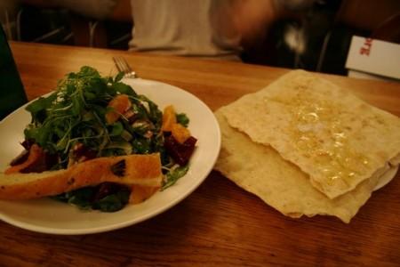カフェな日々 サラダ&パン