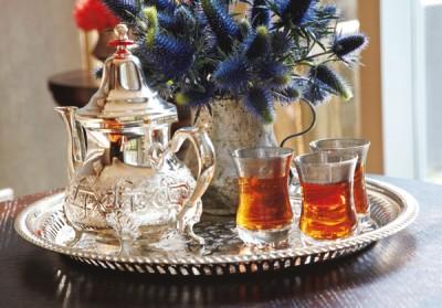 中東風お茶 トランプ・ソーホー