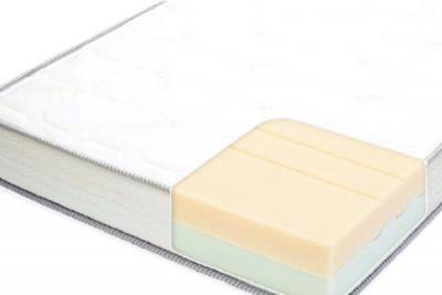 硬さが異なる2層のウレタンフォームの接合部分を波形にすることで、空気層ができ、内部にこもりがちな熱や湿気を拡散。爽やかな寝心地です