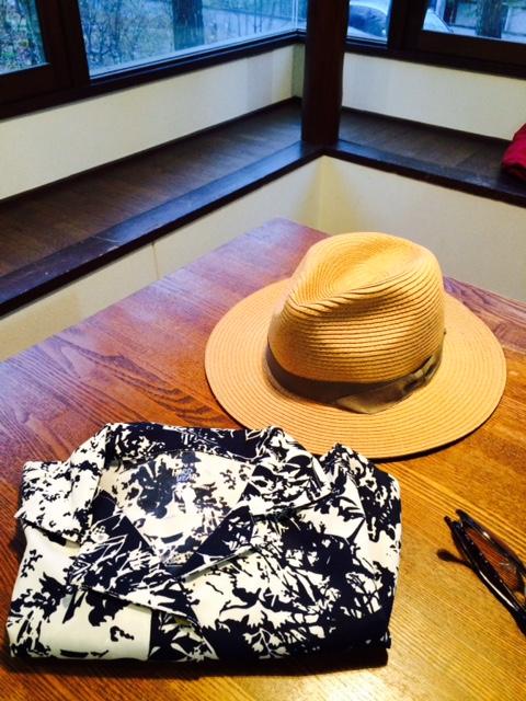 吉川帽子シャツ