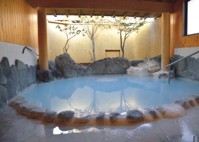 こだわり温泉 庄屋の館 ブルー温泉