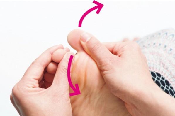 """いつまでも""""歩ける体""""をつくるために""""足指""""を育てよう!④「指きり」エクササイズ"""