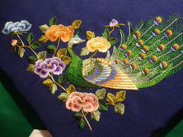 小原 刺繍 作品
