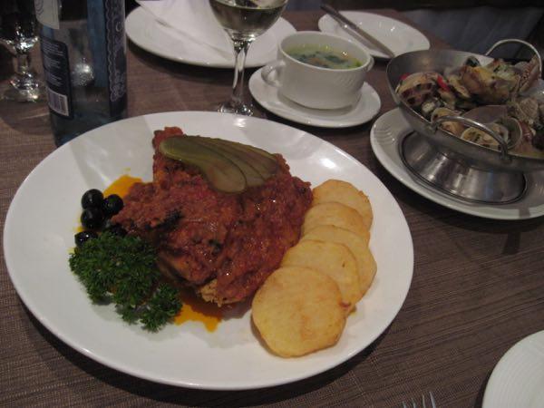 マカオの美食アフリカン・チキン