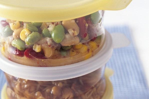 作り置きできる小さなおかず①食物繊維・栄養が豊富な乾物や缶詰で常備菜作り