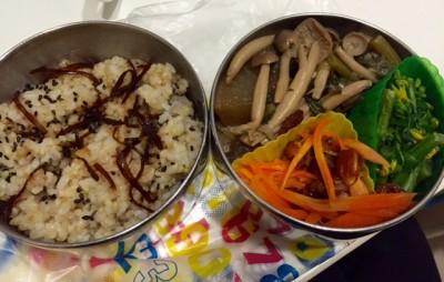 樫出さん お弁当 野菜