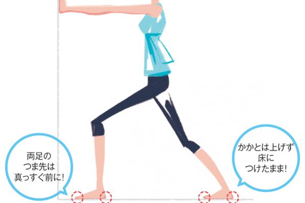 足のトラブルを防ぐ4つのポイント①アキレス腱のストレッチ