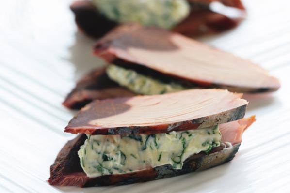 手軽でおしゃれな「健脳」魚介料理/⑥山田玲子さんの「なまり節とクリームチーズのハーブ風味」