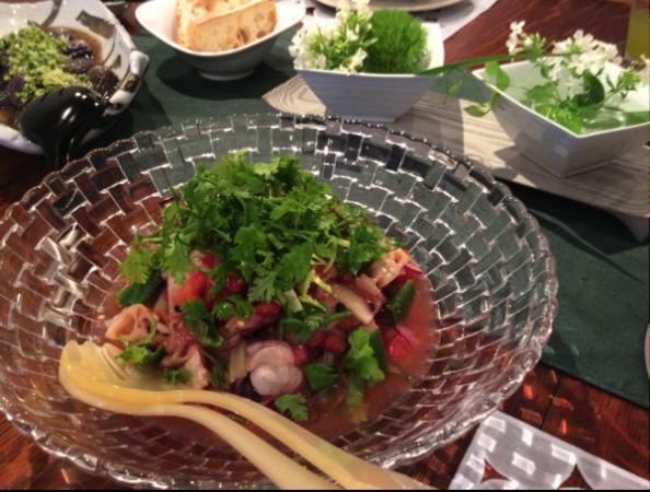 松田夏食卓2