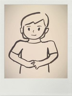 漢方ダイエットできれいにやせる おなかイメージ図