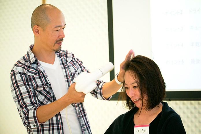 髪が傷まないヘアドライ法、教えます 「甦れ、私のツヤ髪! 〜自宅でできるヘッド・スパ教室〜」開催報告③