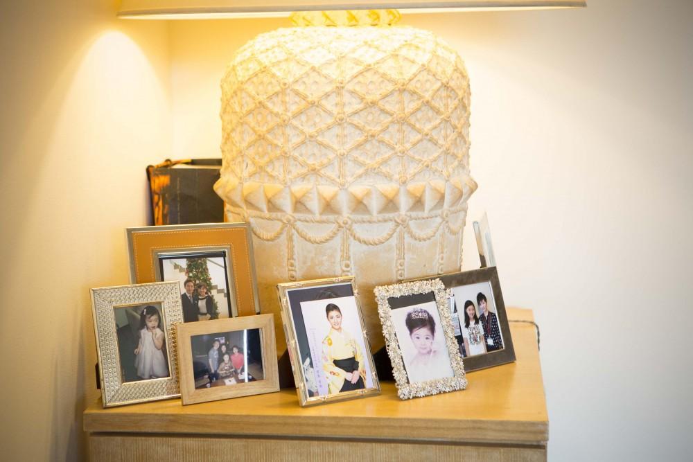 君島十和子 家族写真