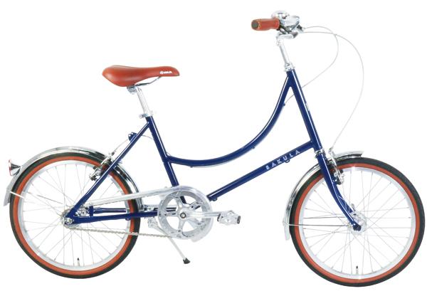 ¥46,000 サイズ:フレーム380㎜、タイヤ20×1.50 カラー:アイボリー、カーキ、ネイビー(写真) 重量:13㎏ 適応身長:150㎝~