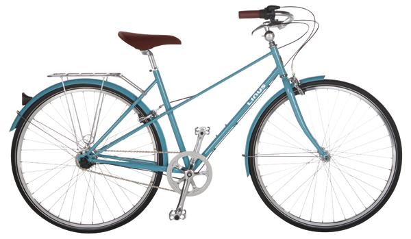 ¥88,000 サイズ:フレーム410㎜、490㎜(ローズウッドは490 ㎜のみ、クリームは410㎜のみ)、タイヤ700×35C カラー:ローズウッド、クリーム、スカイブルー(写真)