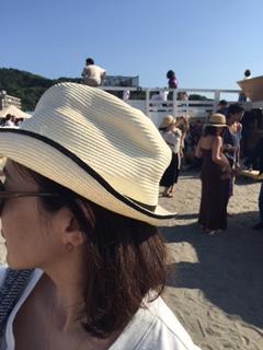 小林さん 帽子