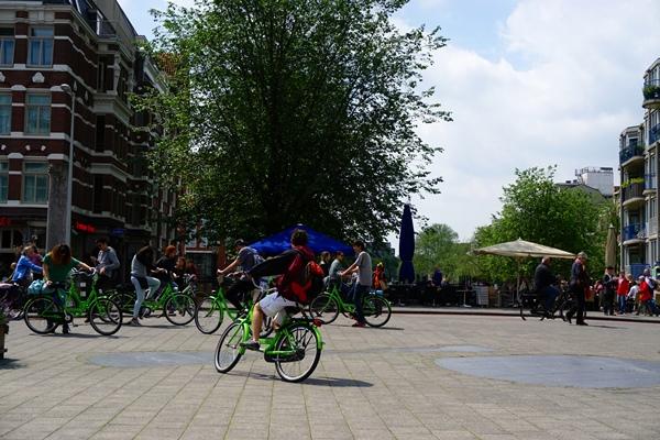 井原さん オランダ自転車