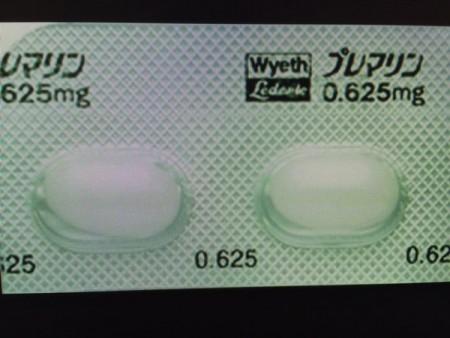女性ホルモン補充の経口剤