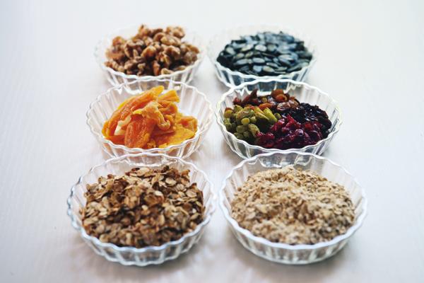 ココナッツオイルを使った簡単グラノーラ。脳の元気を腸からもサポート!②レシピ