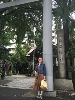 小林さん スタート神社