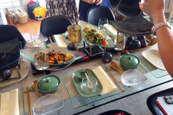 私の「おもてなし」に新風を! お料理とテーブルスタイリング教室へ