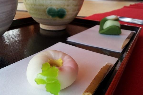 東京の真ん中、浜離宮「中島の御茶屋」でお茶を一服