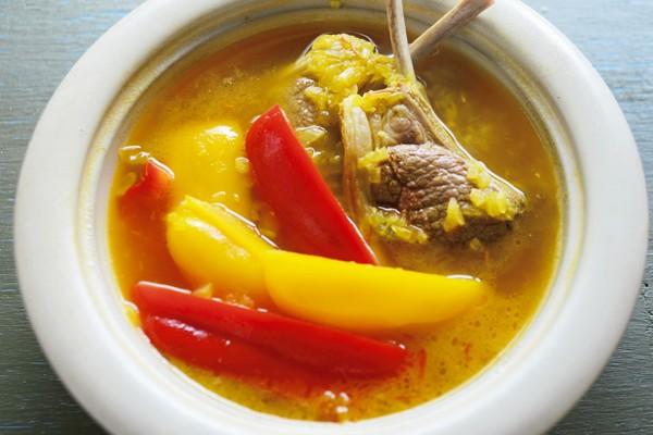 体温アップにはタンパク質の「赤い肉」が最強!②ラム肉のサフラン鍋