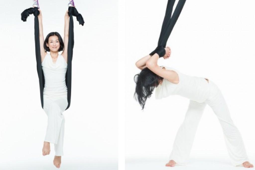 鈴木保奈美さんの「大人の筋活」ジャイロトニックのトレーニングでキープ