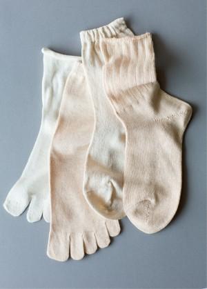 「もともと家でもソックスを履く派でしたが、5本指ソックスの重ね履きの温まり効果はテキメン。血行がよくなって全身がポカポカします。足首が温まるのもポイントだと思うので、新幹線での移動のときなどはレッグウォーマーを使っています」