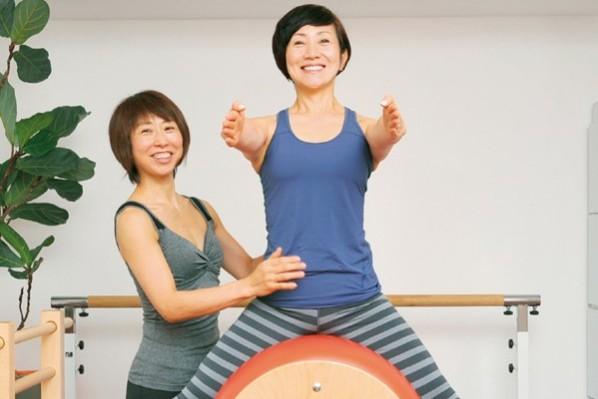 宮田喜代美さん/パーソナルな筋トレで体を作り替え