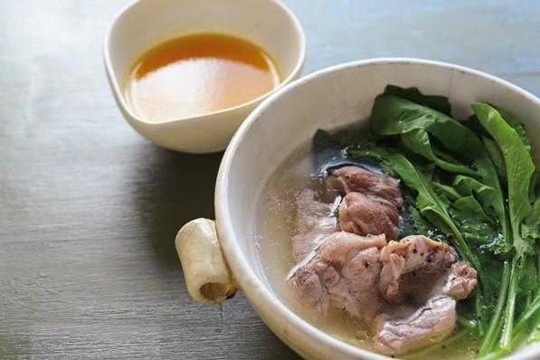 体温アップにはタンパク質の「赤い肉」が最強!①鴨とルッコラの鍋