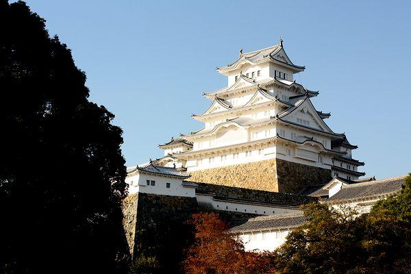 世界文化遺産・国宝の「姫路城」本当に真っ白!