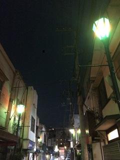 小林さん 谷中の夜