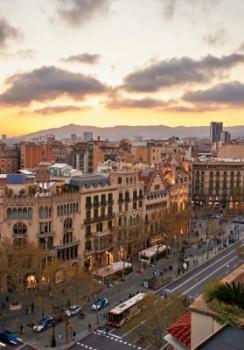 癒しのバルセロナ グラシア通り
