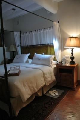 井原さん ホテル寝室