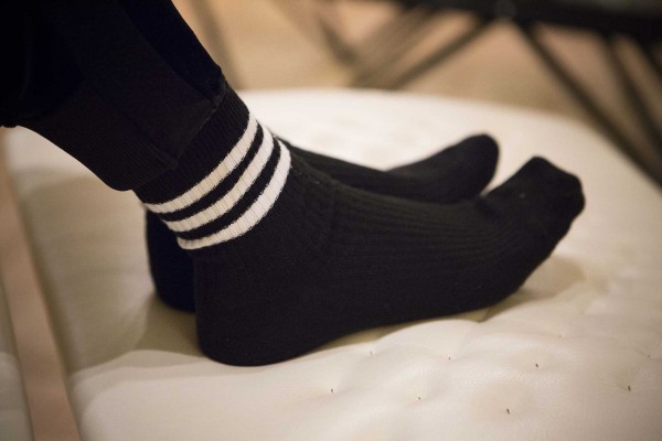 十和子流冷え退治の靴下